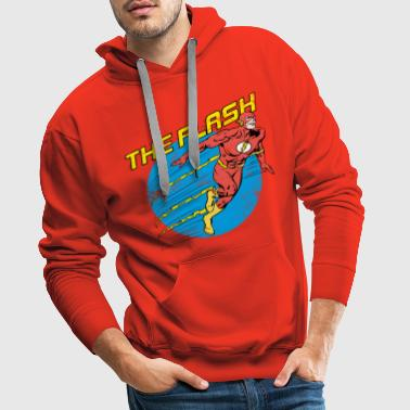 DC Comics Ligue De Justice D'Amérique The Flash - Sweat-shirt à capuche Premium pour hommes