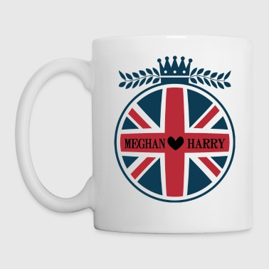 Royal Wedding Meghan And Harry Union Jack - Mug