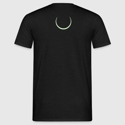 moon, wicca, moon, women, magic, pagan magic, Pan, devil, witch, witch, witches, lesbian, gothic, goth T-Shirts - Men's T-Shirt