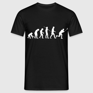 Floorball Evolution Black - Männer T-Shirt
