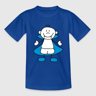 Royalblau Süßer kleiner Vampir Kinder T-Shirts - Teenager T-Shirt