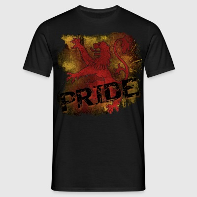 Lion Rampant Pride - Black - Men's T-Shirt