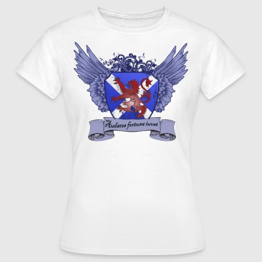 Lion Crest - White - Women's T-Shirt
