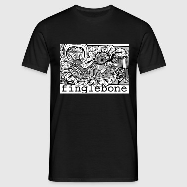 finglebone fish  - Men's T-Shirt