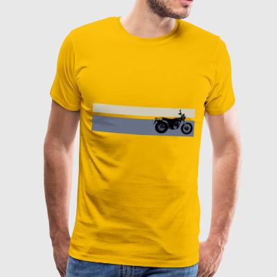 VanVan K8 Yellow Stripes Man - Camiseta premium hombre