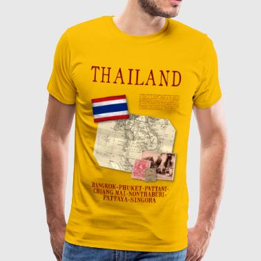 Thailand - World Tour Expedition - T-shirt Premium Homme