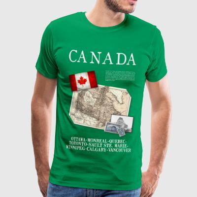 Canada - World Tour Expedition - T-shirt Premium Homme