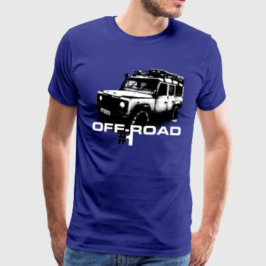 LR off-road #1 - Autonaut.com - Men's Premium T-Shirt