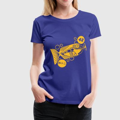 Babelfish T-Shirts - Frauen Premium T-Shirt