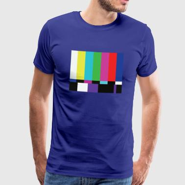 Sheldon Test Pattern T-Shirt - Men's Premium T-Shirt