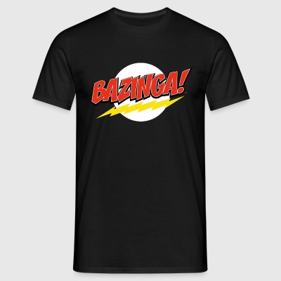 The Big Bang Theory Bazinga Männer T-Shirt - Männer T-Shirt
