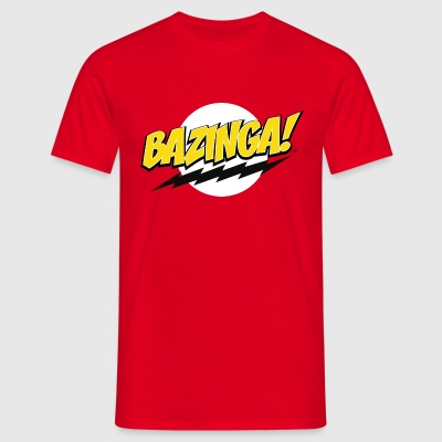 The Big Bang Theory Bazinga! Herre T-Shirt - T-skjorte for menn