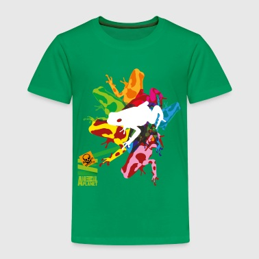 Animal Planet Kinder T-Shirt Frosch - Kinder Premium T-Shirt