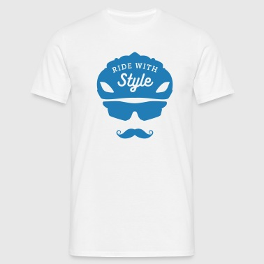 Ride with style - Men's T-Shirt