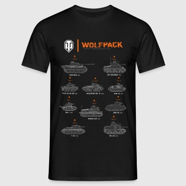 World of Tanks Wolfpack - T-shirt Homme