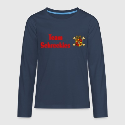 Teenager Langarmshirt - Team Schreckies - Teenager Premium Langarmshirt