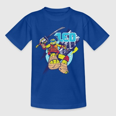 TMNT Turtles Leo Greift An - Teenager T-Shirt