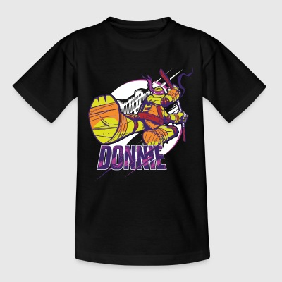 TMNT Turtles Donnie With Bo Staff - Camiseta niño