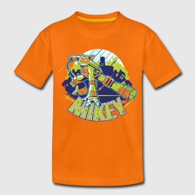 TMNT Turtles Mikey With Nunchucks - Kids' Premium T-Shirt
