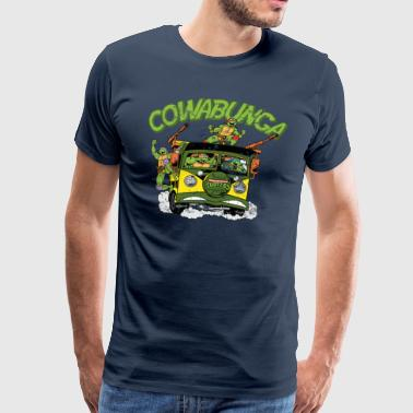 TMNT Turtles Cowabunga Bus Tour - Premium-T-shirt herr
