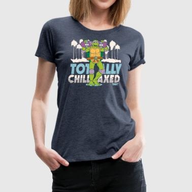 TMNT Turtles Donatello Mit Skateboard - Frauen Premium T-Shirt