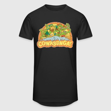 TMNT Teenage Mutant Surfing Turtles - Urban lång T-shirt herr