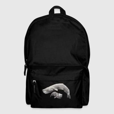 Pottwale /Sperm Whales Bags & Backpacks - Backpack
