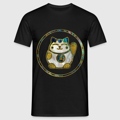 Maneki Neko Lucky cat T-Shirts - Men's T-Shirt