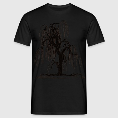 CREEPY TREE - Männer T-Shirt