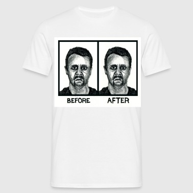 Before/After - Men's T-Shirt
