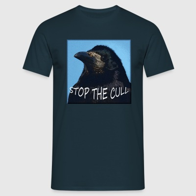 Stop the Cull Navy - Men's T-Shirt