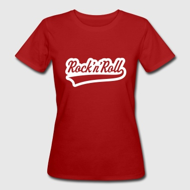 Rock 'n' Roll (Outline) Frauen T-Shirt klimaneutral - Frauen Bio-T-Shirt