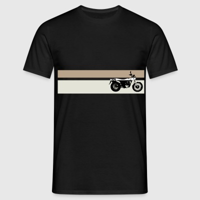 VanVan L0 Black Color Stripes Man - Camiseta hombre