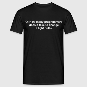 Programmer joke - Men's T-Shirt