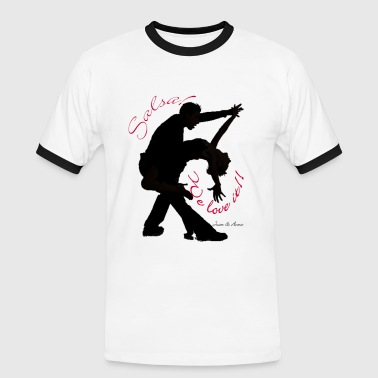 dance - Men's Ringer Shirt