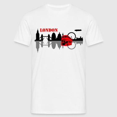 london skyline - Männer T-Shirt