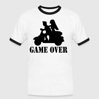 game over T-Shirts - Männer Kontrast-T-Shirt