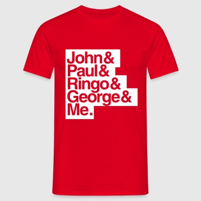 JPRG - The Beatles - John, Paul, Ringo, George and Me - Männer T-Shirt