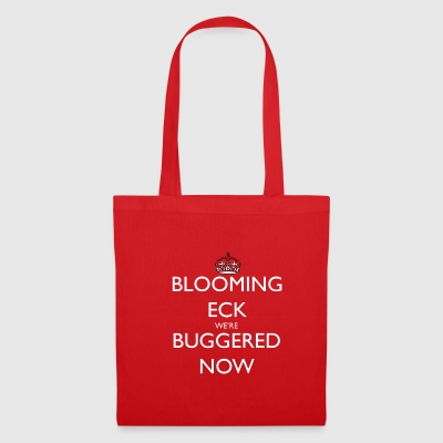 Blooming Eck We're Buggered Tote Bag - Tote Bag
