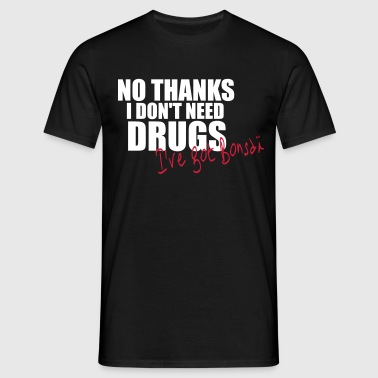 i_dont_need_drugs_seul Tee shirts - T-shirt Homme
