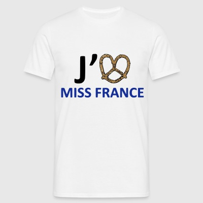 Bretzel - J'aime Miss France ! - T-shirt Homme