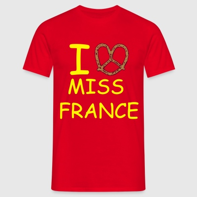 Bretzel - I love Miss France ! - T-shirt Homme