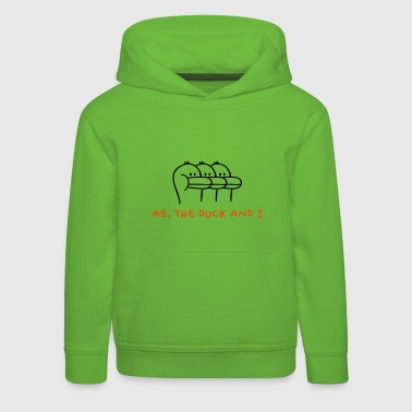Me, the Duck and I Kinder Pullover - Kinder Premium Hoodie