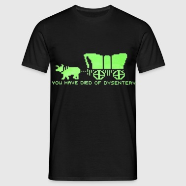 Dysentery (for dark bkg) - Men's T-Shirt