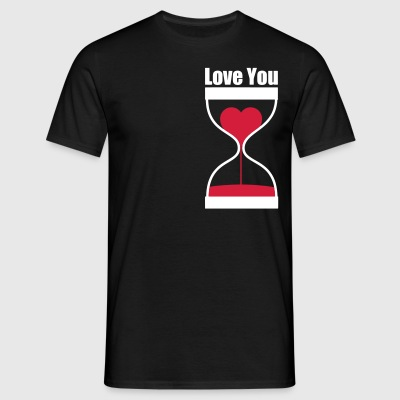 love you T-Shirts - Männer T-Shirt