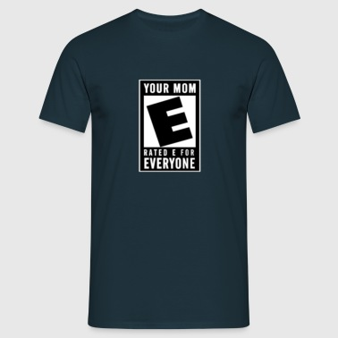 Rated E - Men's T-Shirt