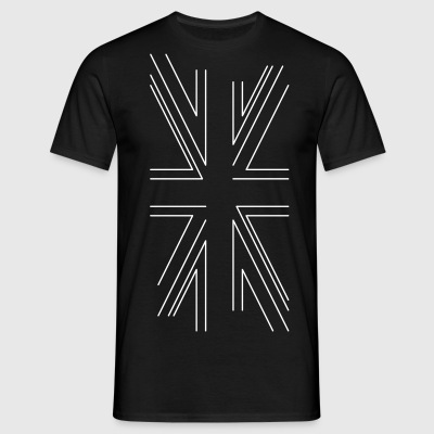 Deconstructed Union Jack - Men's T-Shirt