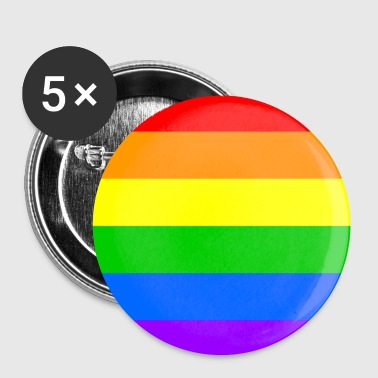 Badges Rainbow Flag - Badge petit 25 mm