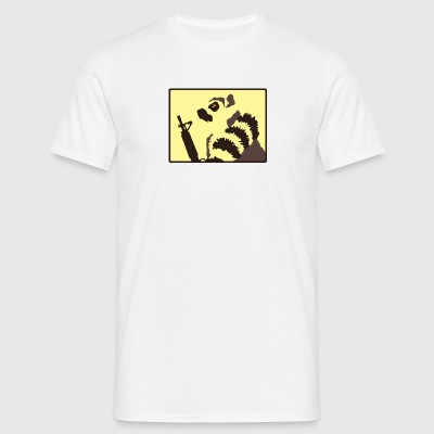 Lemur Patrol White - Men's T-Shirt