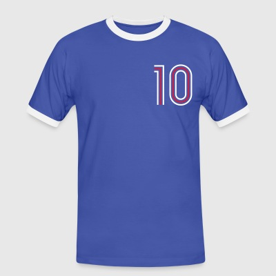 BLEUDIAN 10 (Home) - T-shirt contraste Homme
